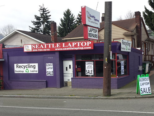 Seattle Laptop - Used Laptop Seattle
