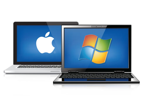 Used PC and Apple Laptops